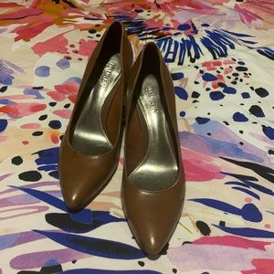 Ralph Lauren Brown Leather Pumps Size 11